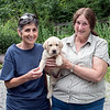 Mercedes, Kassie & Janice (breeder) prior to leaving for home