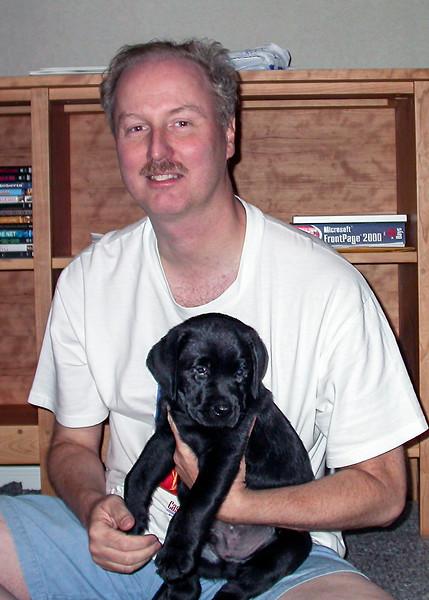 Maverick's 3rd day home - July 28, 2002