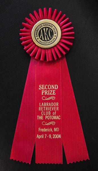 Potomac 2nd Prize Ribbon