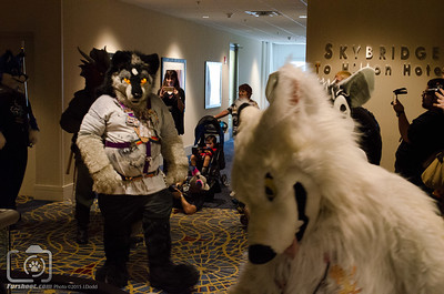 Fursuiters on Parade