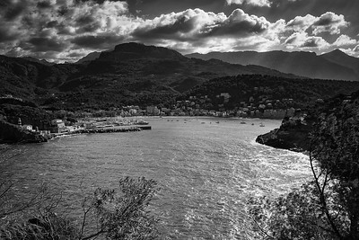 Port Soller from Cap Gros