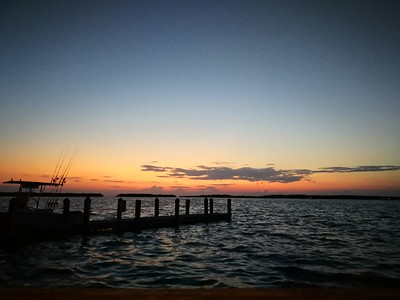 Dusk on the Florida Keys