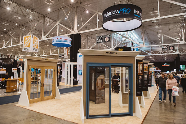 2017 Great Big Home and Garden Show Booths