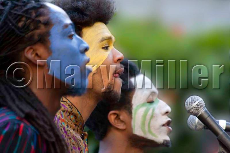 Painted Singers