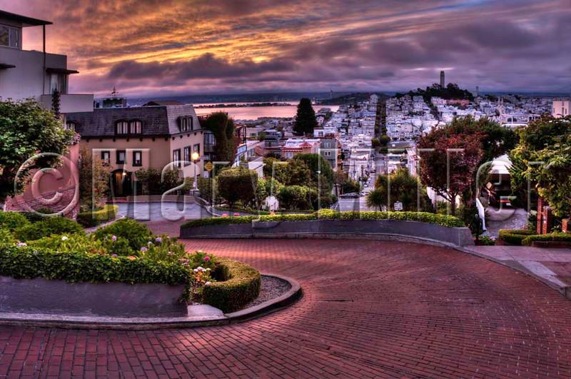 Sunrise Lombard Street