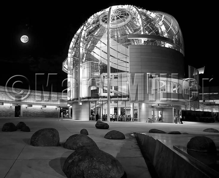 San Jose Civic Center At Night