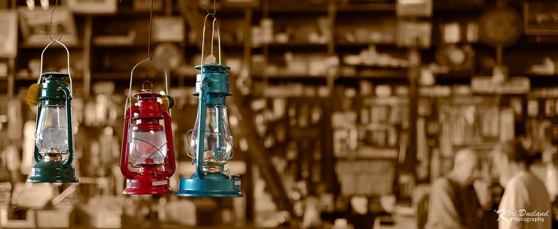 3 Lanterns Sepia