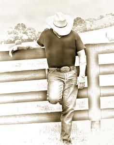 Pencilled Cowboy