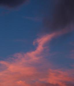 Blue Orange Sky