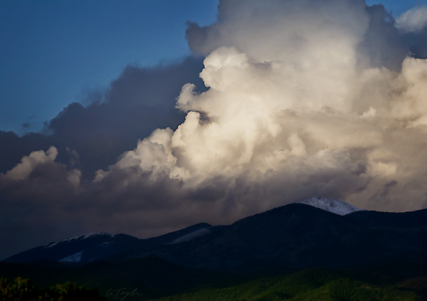 Cloud and Things Over the Sangres