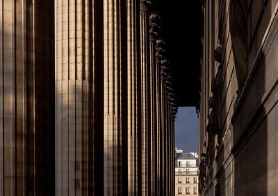 Columns and Apartment Building, Paris, 2013