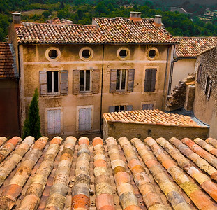 Tile Roofs, Provence, 2010