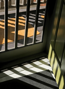 Kitchen Door with Shadows, Portland, 2017