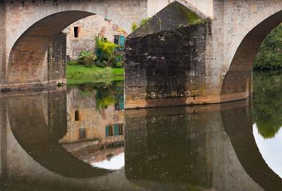 Bridge, St. Antonin Noble Val, France, 2013