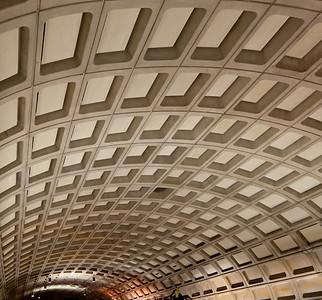 Two People in Metro, Washington, DC