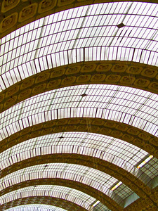 Ceiling, Musee D'Orsay, Paris, 2007