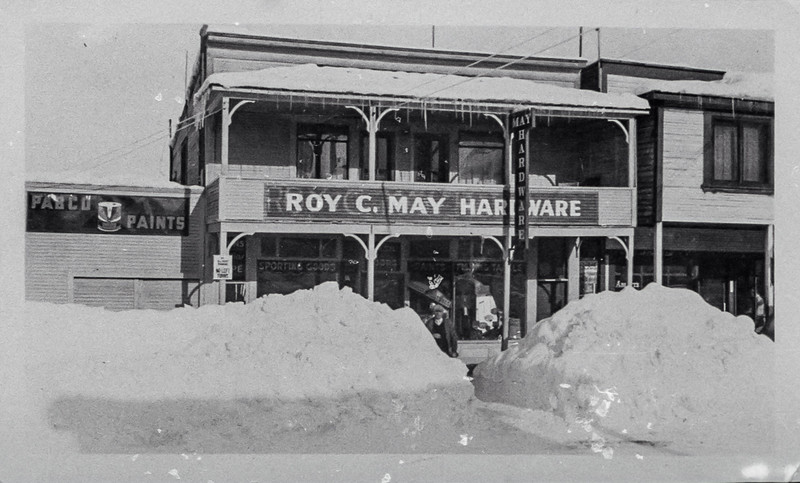 Original May Hardware, McCall, Idaho.