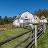 Historical farm/fishing museum on the south shore of Forillon National Park