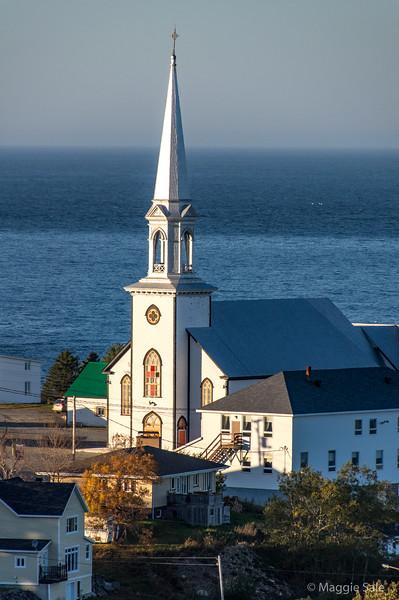 Church in Rivière au Renard