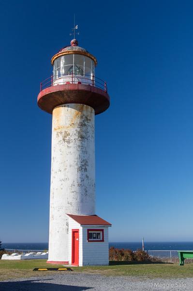 Lighthouse at Cap Madeleine
