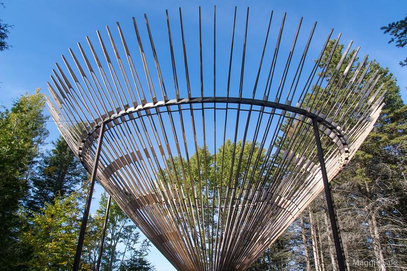 An international landscape art exposition at the Jardin de Metis (Reford Gardens) in Grand Metis