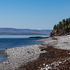 Gaspé Bay from the shore of Forillon NP