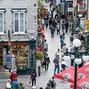 Old Quebec City pedestrian streets