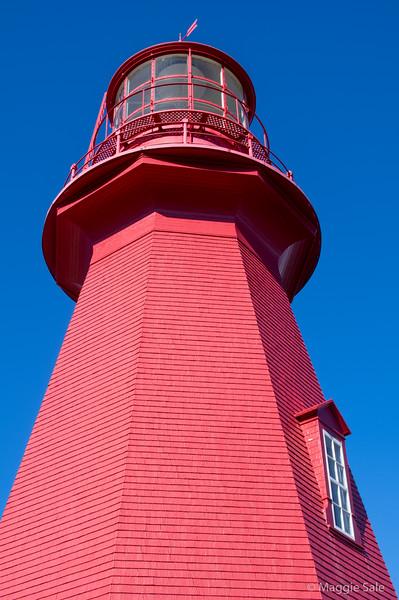 Lighthouse at La Martre