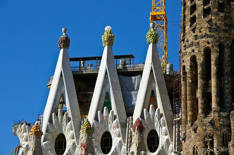 Sagrada Familia Roof