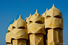 Casa Mila Chimneys
