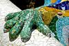 Mosaic Lizard Hand, Parc Guell