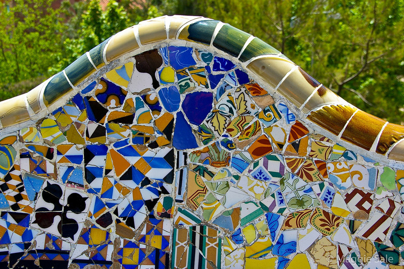 Mosaic Seating, Parc Guell