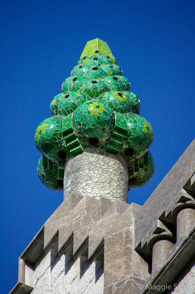 Palau Guell Roof 2