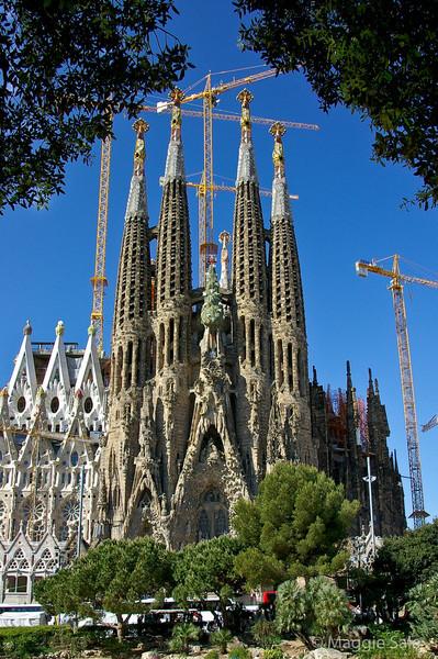 Sagrada Familia unfinished cathedral
