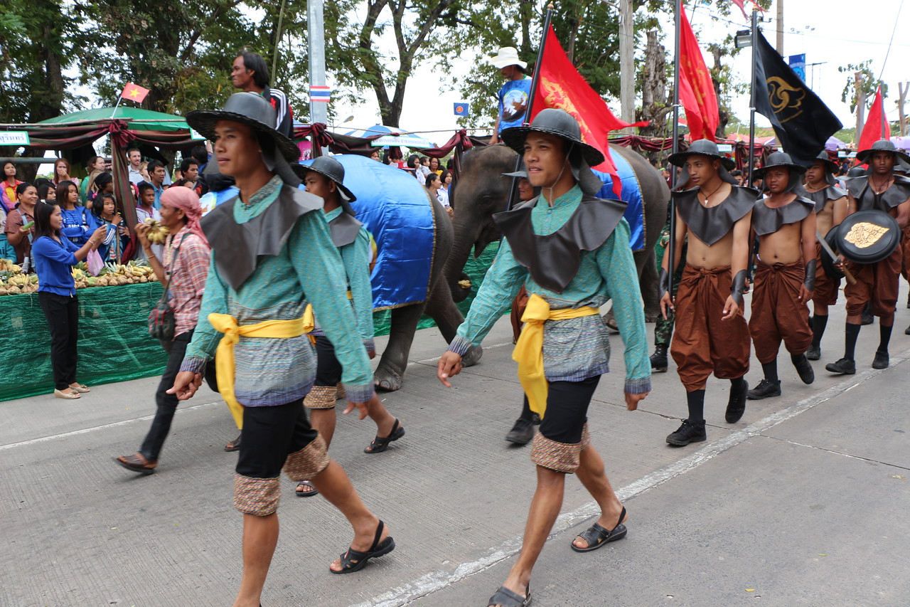 2014-11-14 Surin Elephant Welcome Feast 161