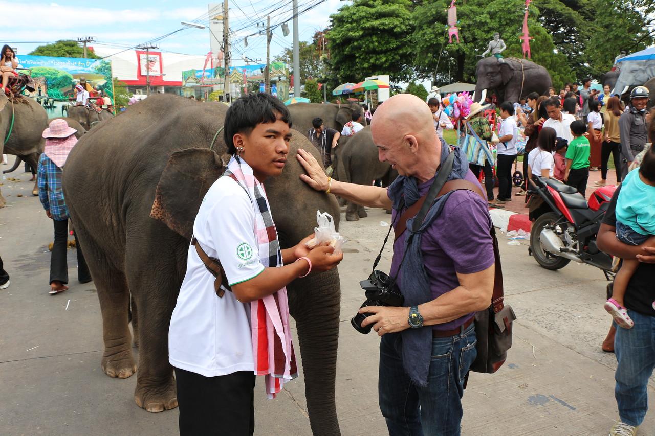 2014-11-14 Surin Elephant Welcome Feast 771