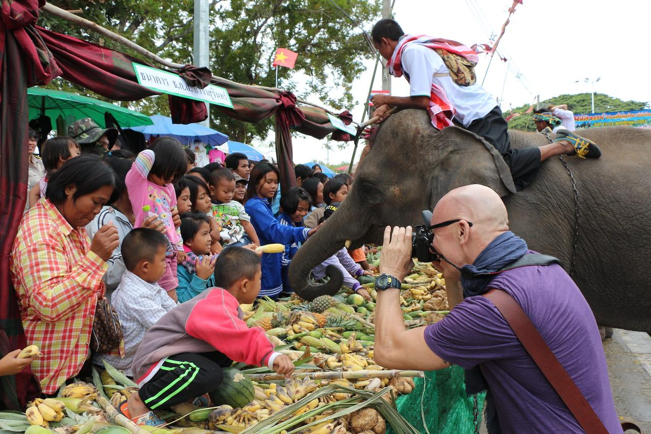 2014-11-14 Surin Elephant Welcome Feast 329