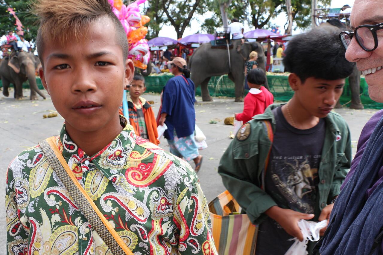 2014-11-14 Surin Elephant Welcome Feast 596