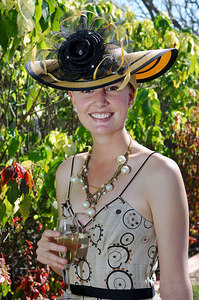 29 JUL 2006 TOWNSVILLE, QLD - TV personality Megan Pailthorpe at the Jupiters Townsville Cup Race Day - PHOTO: CAMERON LAIRD