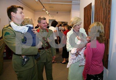 28 Sep 2007 Townsville, Qld, Australia - 7 recipients were awarded medals by the Governor of Queensland Ms. Quentin Bryce, AC during an Investiture Ceremony at Perc Tucker gallery - PHOTO: CAMERON LAIRD (Ph: 0418 238811)