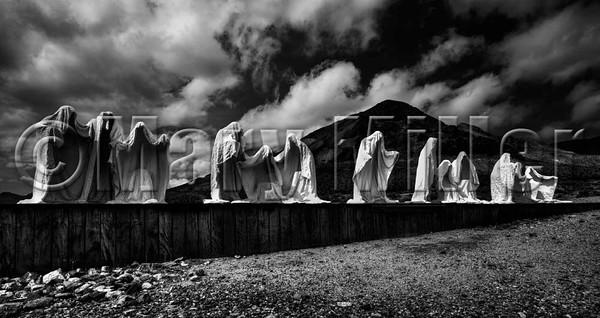 Desert Statues