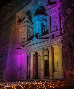 Petra Night Show at the Treasury