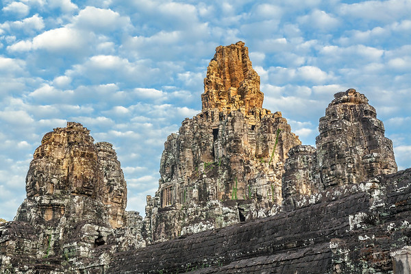 Day's First Light at the Bayon