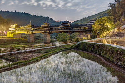 ChengYang Bridge at Dusk
