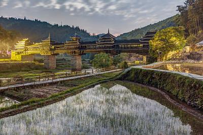 ChengYang Bridge at Dusk