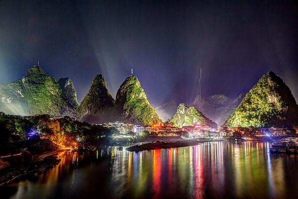 Night at XingPing