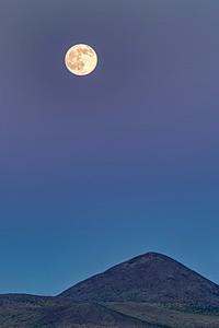 Full Moon in Mongolia