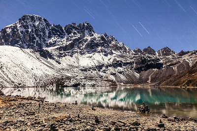 Gokyo Star Trails