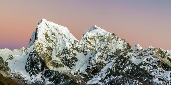 Himalayas at Dusk