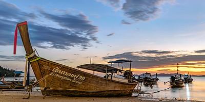 Phang Nga Bay Sunset Panorama